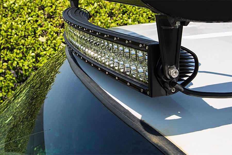 Светодиодные балки на крышу