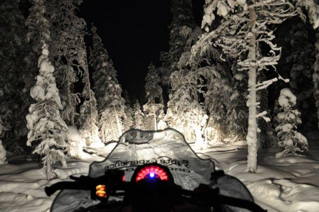 фары на снегоход