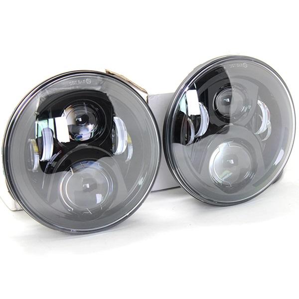 Светодиодные LED фары 7 дюймов