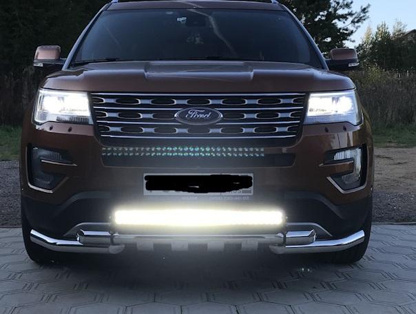 Светодиодная балка на Ford Explorer