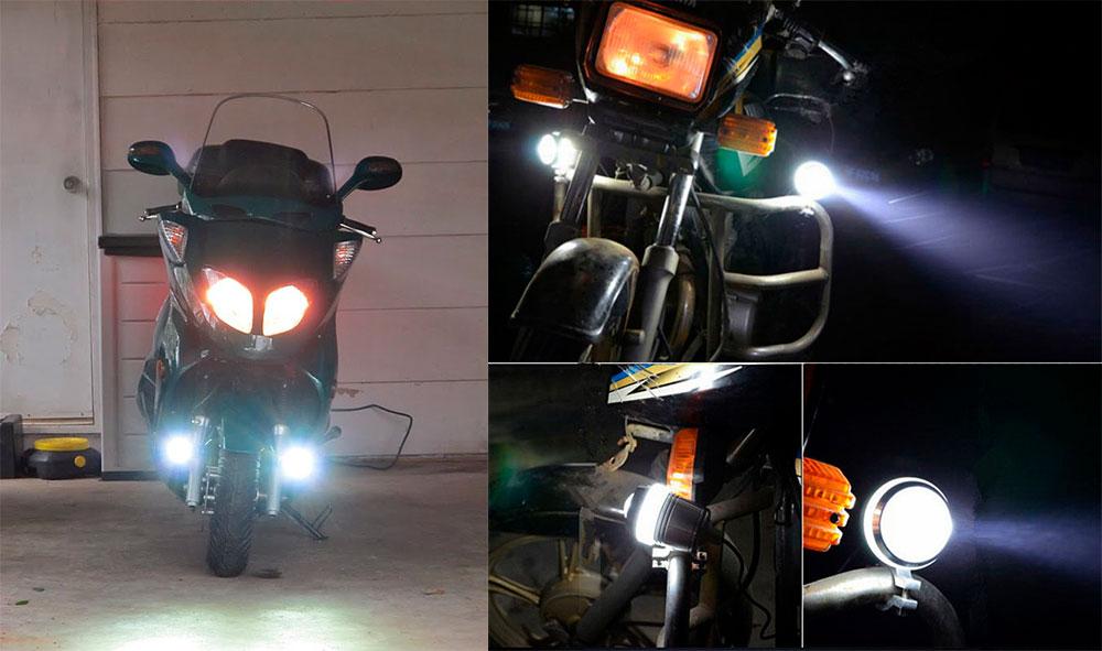 противотуманные фары на мотоцикл